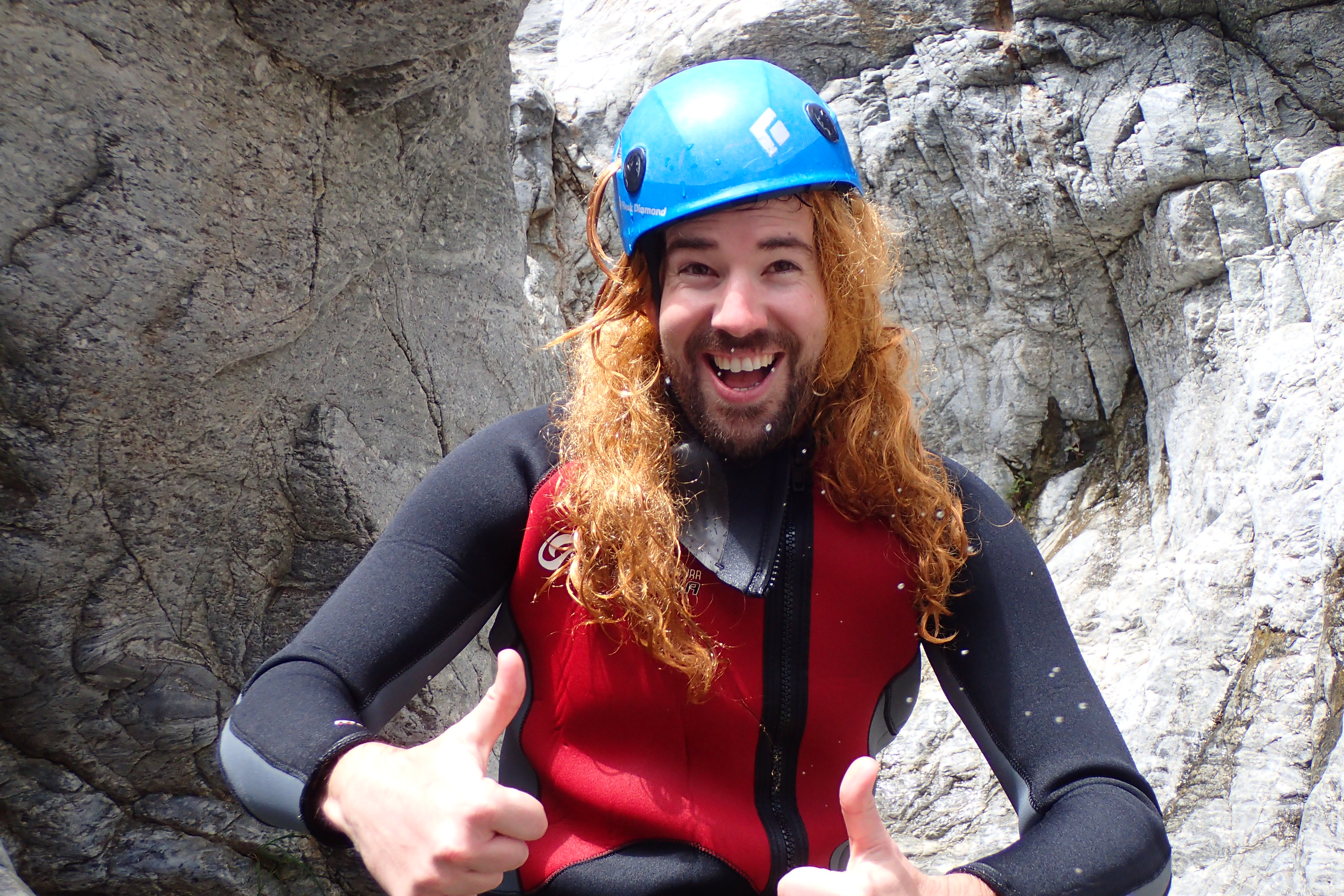 Despedida soltero canyoning en Málaga