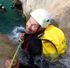 wednesday rio verde canyoning