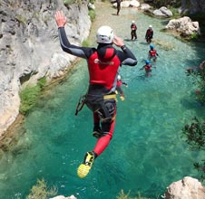 rio verde xpro canyoning offer